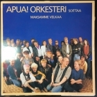 Apua! Orkesteri - Maksamme velkaa 12'' SINGLE (VG+-M-/VG+) -pop rock-