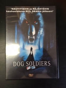 Dog Soldiers DVD (VG+/M-) -kauhu-