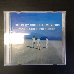 Manic Street Preachers - This Is My Truth Tell Me Yours CD (M-/VG+) -alt rock-