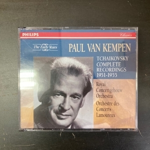Paul Van Kempen - Tchaikovsky Complete Recordings 1951-1955 3CD (M-/M-) -klassinen-