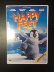 Happy Feet DVD (VG/M-) -animaatio-