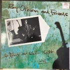 Roy Orbison And Friends - A Black And White Night Live (EU/V2601/1989) LP (VG+/VG+) -rock n roll-