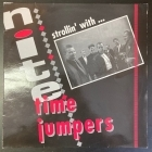Nite Time Jumpers - Strollin' With... Nite Time Jumpers LP (VG-VG+/VG+) -rockabilly-