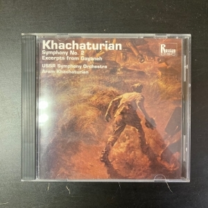 Khachaturian - Symphony No.2 / Excerpts From Gayaneh CD (VG+/M-) -klassinen-