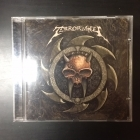 Terrorwheel - Rhythm 'N' Murder CD (VG/VG) -speed metal-