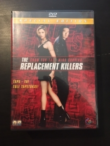 Replacement Killers (special edition) DVD (M-/M-) -toiminta-