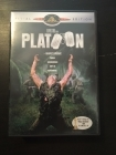 Platoon - Nuoret sotilaat (special edition) DVD (M-/M-) -sota-