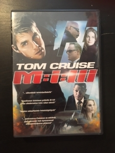 Mission Impossible 3 DVD (VG+/M-) -toiminta-