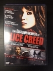 Disappearance Of Alice Creed DVD (VG/M-) -jännitys-