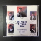 Wil Kilpela & Friends Band - Finnish Medley And More Volume 1 CD (VG+/VG) -folk-