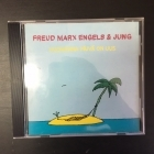 Freud Marx Engels & Jung - Huomenna päivä on uus CD (VG+/M-) -country rock-
