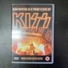Kiss - Konfidential & X-treme Close Up DVD (M-/M-) -hard rock-