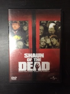 Shaun Of The Dead DVD (VG+/M-) -kauhu/komedia-