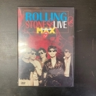 Rolling Stones - Live At The Max DVD (VG+/M-) -rock n roll-