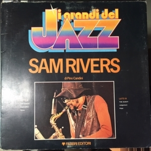 Sam Rivers - Sam Rivers LP (VG-VG+/VG) -jazz-