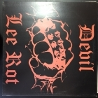 Devil Lee Rot / Northern Darkness - Split LP (M-/VG+) -black metal-