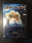 Megadeth - That One Night (Live In Buenos Aires) DVD (VG+/M-) -thrash metal-