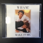 Wham! - Make It Big CD (VG/VG+) -synthpop-