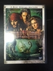 Pirates Of The Caribbean - Kuolleen miehen kirstu (special edition) 2DVD (VG/M-) -seikkailu-