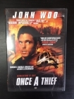 Once A Thief (1996) DVD (VG/VG+) -toiminta-