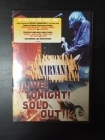 Nirvana - Live! Tonight! Sold Out!! DVD (VG+/M-) -grunge-