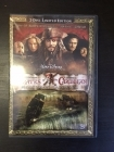 Pirates Of The Caribbean - Maailman laidalla (limited edition) 2DVD (M-/M-) -seikkailu-