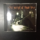 Script Of Flood - Cue To Exit CD (M-/M-) -gothic metal-