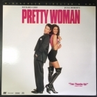 Pretty Woman (director's cut) LaserDisc (VG+-M-/M-) -komedia/draama-