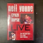 Neil Young & Crazy Horse - Live (Rust Never Sleeps) DVD (VG/M-) -folk rock/hard rock-
