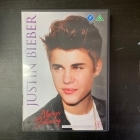 Justin Bieber - Always Believing DVD (M-/M-) -dokumentti-