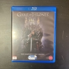 Game Of Thrones - Kausi 1 Blu-ray (M-/M-) -tv-sarja-