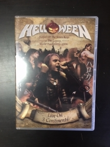 Helloween - Live On 3 Continents 2DVD (M-/M-) -power metal-