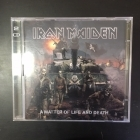 Iron Maiden - A Matter Of Life And Death (limited edition) CD+DVD (VG-VG+/VG+) -heavy metal-