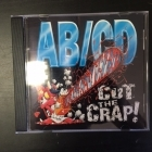 AB/CD - Cut The Crap! CD (VG/VG) -hard rock-