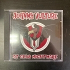 Johnny Nightmare / Vulture Club - Johnny Vulture At Club Nightmare CDEP (VG+/M-) -psychobilly-