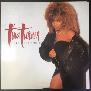 Tina Turner - Break Every Rule LP (VG+/M-) -pop rock/soul-