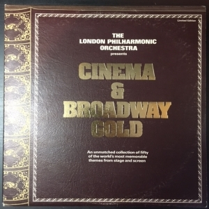 London Philharmonic Orchestra - Cinema & Broadway Gold 2LP (VG-VG+/VG+) -soundtrack-