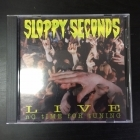 Sloppy Seconds - Live (No Time For Tuning) CD (VG+/M-) -punk rock-