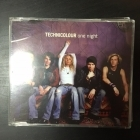 Technicolour - One Night CDS (VG+/M-) -pop rock-
