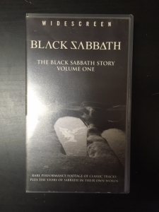 Black Sabbath - The Black Sabbath Story Volume One VHS (VG+/M-) -heavy metal-