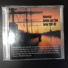 Historical Harlem Jazz Club Turku 1961-63 2CD (VG-M-/M-)