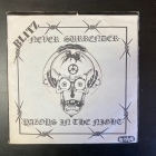 Blitz - Never Surrender / Razors In The Night (FIN/INTER3/1982) 7'' (VG+/VG+) -punk rock-