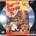 God Told Me To LaserDisc (VG+/VG+) -kauhu/sci-fi-