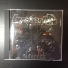 Lysteria - Nausees CD (VG/VG+) -punk rock-