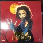Return Of The Living Dead 3 LaserDisc (VG+/VG+) -kauhu-