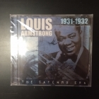 Louis Armstrong - The Satchmo Era 1931-1932 CD (avaamaton) -jazz-