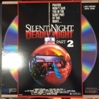 Silent Night, Deadly Night 2 LaserDisc (VG+-M-/VG+) -kauhu-