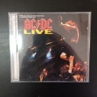 AC/DC - Live (special collector's edition) 2CD (VG-VG+/VG+) -hard rock-