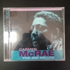 Carmen McRae - Fine And Mellow 2CD (VG+-M-/M-) -jazz-