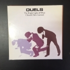 Duels - The Bright Lights & What I Should Have Learned PROMO CD (VG+/VG+) -indie rock-